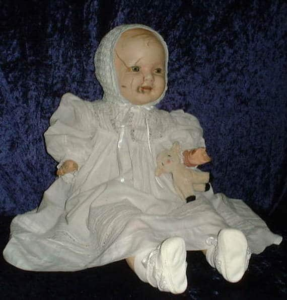 Mandy the cursed doll