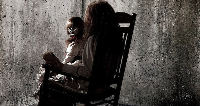 the conjuring poster-annabelle